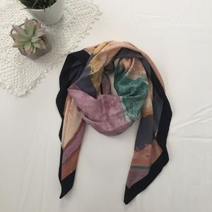 Colorful Sqaure Scarf